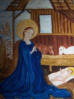 Nativity  by Michael C Doyle
