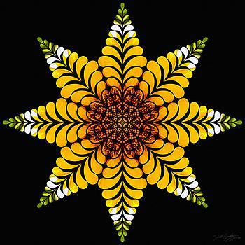 Nature's Mandala 07 by Derek Gedney