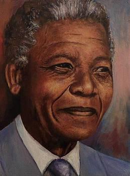 Nelson Mandela by Samuel Daffa