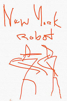 New York Robot by J Burns
