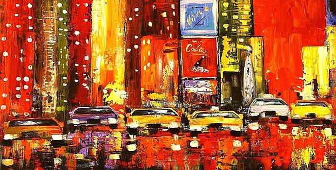 New York Time Square by Jolina Anthony