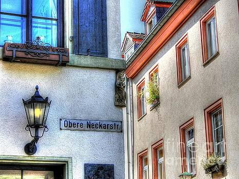 Obere Neckarstr Street by Ines Bolasini