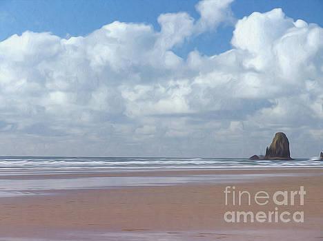 Ocean rock by Nur Roy