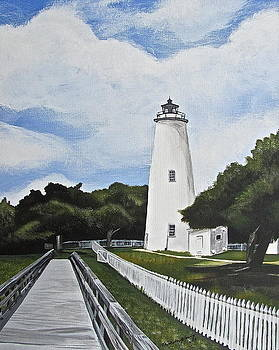 Ocracoke Light Station by Michelle Young
