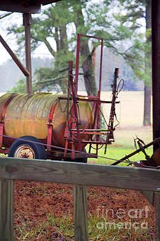 Oil Barrel by Affini Woodley
