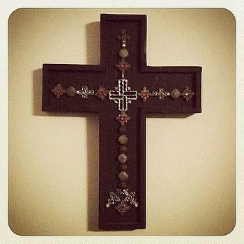 Old Button Cross by Brett Smith