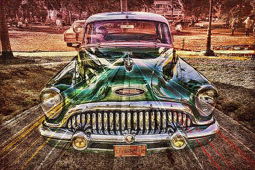 Old car collage5 by Fero Kopacik