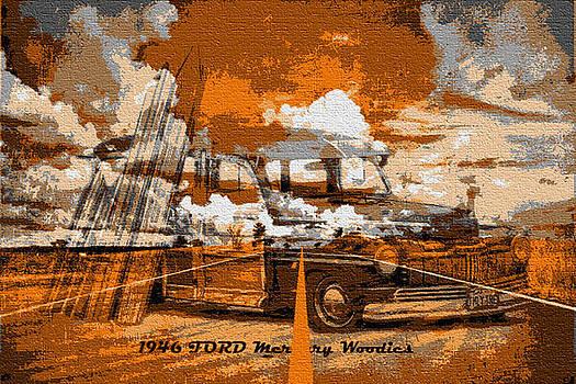 Old car collage7 by Fero Kopacik