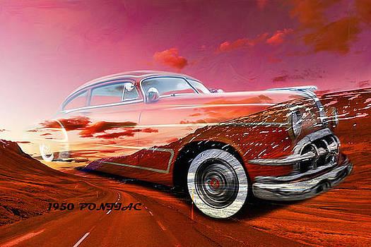 Old car collage8 by Fero Kopacik