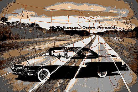 Old car collage9 by Fero Kopacik