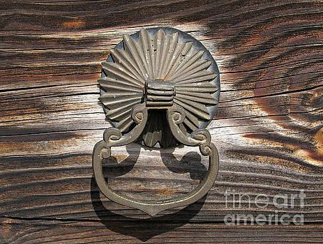 Old Door Handle by Kiril Stanchev