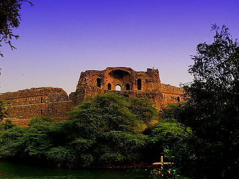 Old Fort Delhi by Salman Ravish