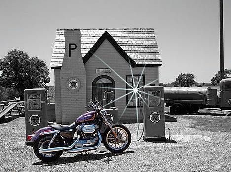 Old Gas Station by Trevor Hilton