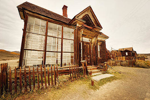 Old Home In Abandoned Mining Town Of Bodie California by Kriss Russell