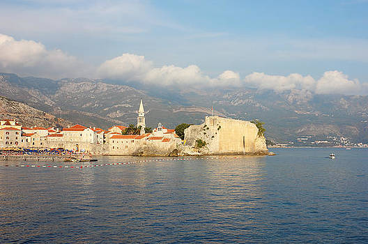 Old Town Budva in Montenegro by Kiril Stanchev