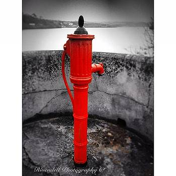Old water pump Kinsale by Maeve O Connell