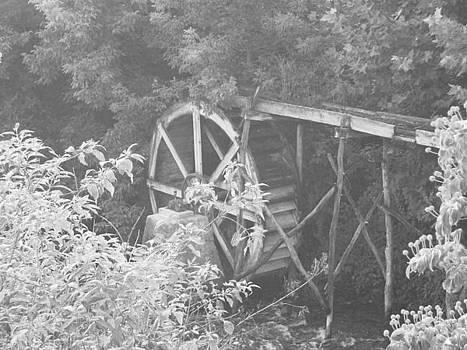 Old Water Wheel by Jennifer Ransom