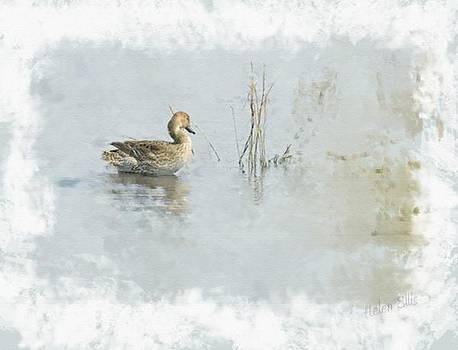 On A Misty Lake by Helen Ellis