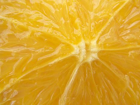 Orange Closeup by Matthias Hauser