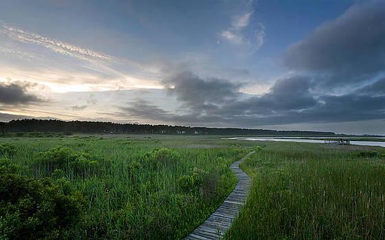 Outer Banks Boardwalk by Matt Tilghman