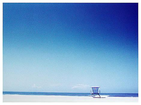 Oxnard Lifeguard Station by Ari Jacobs