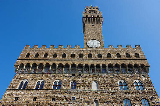 Palazzo Vecchio in Florence by Kiril Stanchev