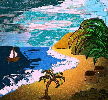 Palm Paradise by Jan Steadman-Jackson