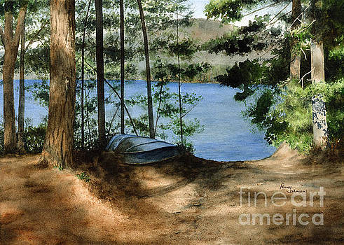Path To The Lake by Penny Johnson