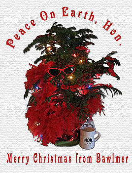 Peace on Earth from Bawlmer Hon by Ceilon Aspensen