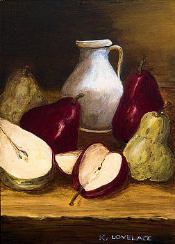 Pears and Cream by Kathy Lovelace