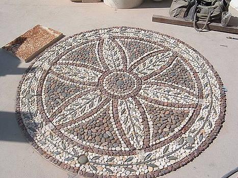 Peble Stone Mosaic by Memo Memovic
