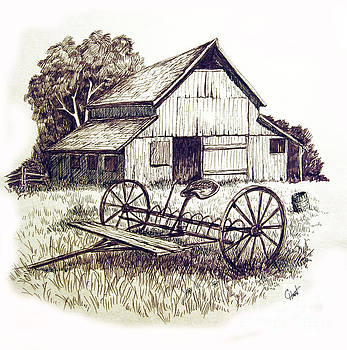 Pen and Ink 8 by Carol Hart
