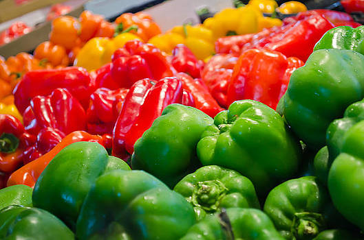Peppers 2 by Mindee Fredman