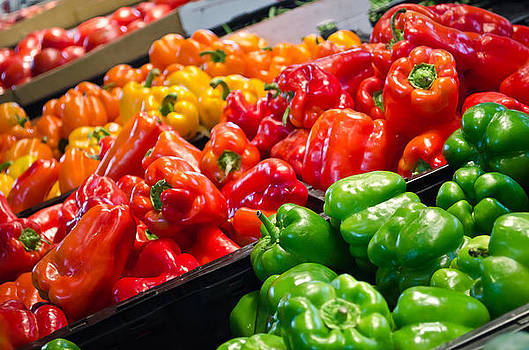 Peppers 3 by Mindee Fredman