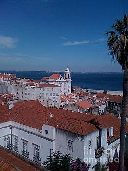 Perfect day in Lisbon Portugal by Sherri Durrell