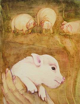 Pigs Four by Georgia Annwell