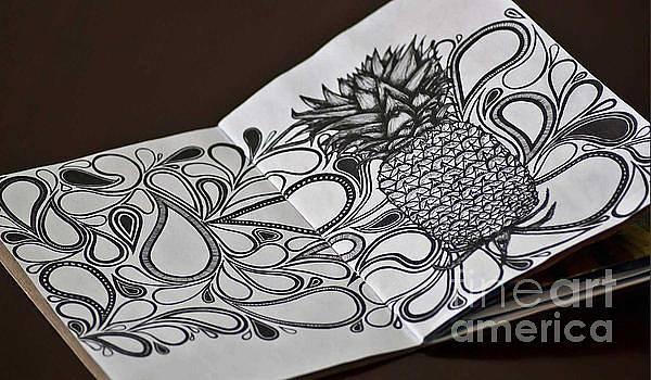 Pineapple Swirls by Laura Kayon