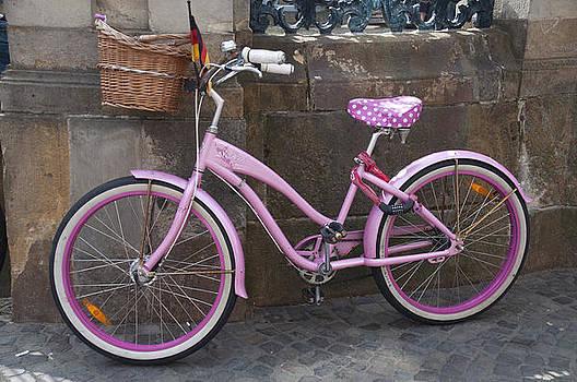 Pink Bike by Sharon Sefton