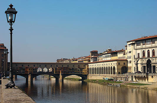 Ponte Vecchio in Florence by Kiril Stanchev