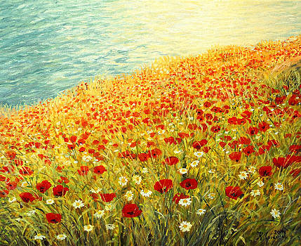 Poppies of Kaliakra II by Kiril Stanchev