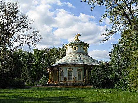 Potsdam The Chinese House by Kiril Stanchev