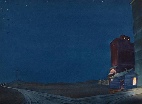 Pre-Dawn On The Hi Line III by Scott Kirby