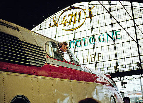 Preserved Trans Europe Express at Cologne Station 1980s by David Davies