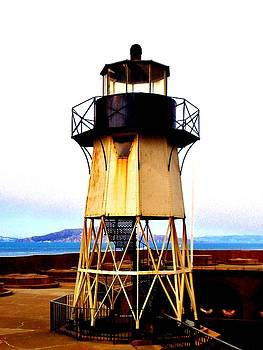 Presidio Lighthouse by Sharon Costa
