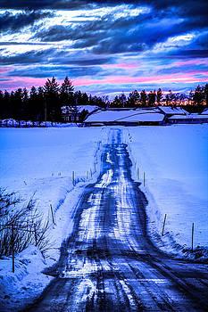 Private Road by Matti Ollikainen