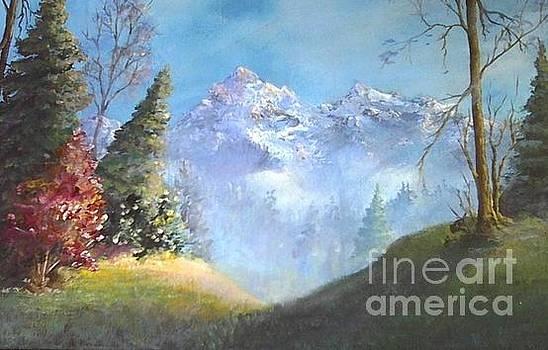 Purple Mountains by Lynn Buckmaster