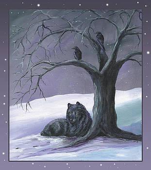Purple Night by Christine StPierre