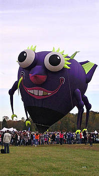 Purple people eater by Lee Hartsell