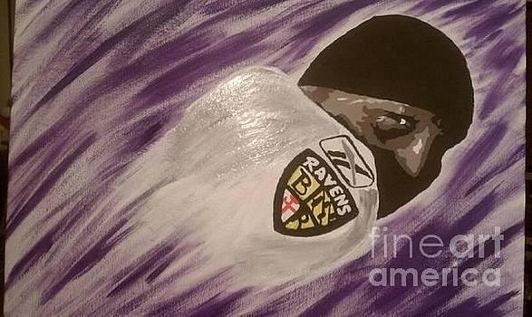 Purple Ray by Lisa Martin