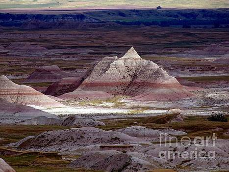 Pyramid of the Badlands by Laurie Wilcox